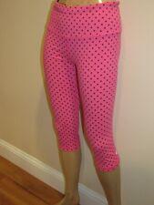 VSX Sport Womens Pink Victorias Secret Capri Pants Size S