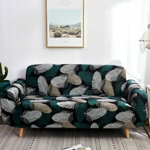 Floral Printed Sofa Covers For Living Room Stretch Sectional Corner Slipcover