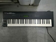 Vintage Roland U-20 Electronic KeyboardSynthesizer for REPAIR (READ DESC)