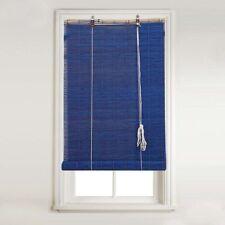 Estores y venecianas color principal azul dormitorio