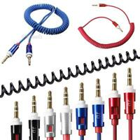Male To Male 3.5mm Aux Auxiliary Cord Stereo Audio Cable for Car PC Phone IPod