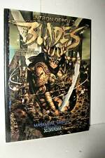 INTRON DEPOT 2 BLADES MASAMUNE SHIROW SEISHINSHA ART BOOK USATO JAP TN1 49668