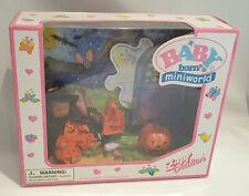 *Rare Zapf Creation Mini Baby Born Halloween Outfit, Doll & Accessories BNIB**