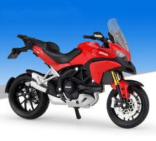 1:18 Maisto 2011 DUCATI MULTISTRADA 1200S Red Motorcycle Bike Model New in Box