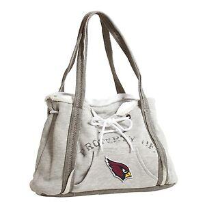 Arizona Cardinals NFL Football Team Ladies Embroidered Hoodie Purse Handbag