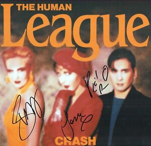 Human League Phil OAKEY Joanne Susan SIGNED Autograph 12x12 Photo C AFTAL RD COA