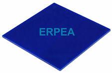 "New Blue Acrylic Plexiglass sheet 1/8"" x 11.5"" x 8.25"""
