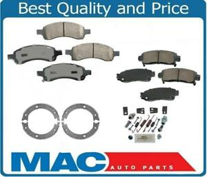 For 07-16 GMC Arcadia 100% New Ceramic Brake Pads Parking Shoes Springs 4pc Kit