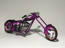 1:18 DIECAST METAL  MOTORBIKE- CHOPPER plp model car toy car motorbike