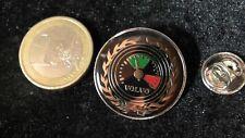 Volvo Pin Badge Speedometer Geschwindigkeitsmessung grün rot grosse Variante