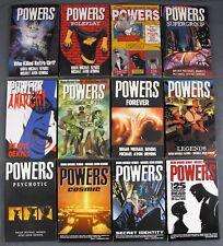 Image/Icon POWERS Graphic Novels Vol #1 2 3 4 5 6 7 8 9 10 11 & #12 TPB SC NM