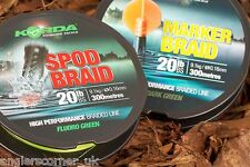 Korda Spod Braid or Marker Braid 20lb 300m / Carp fishing