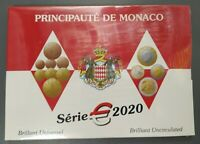 Bonito Set de monedas Mónaco 2020 , muy limitado