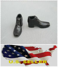 """❶❶*NEW* 1/6 shoes for 12"""" male Figure high heeled dress shoes SHIP FROM US❶❶"""