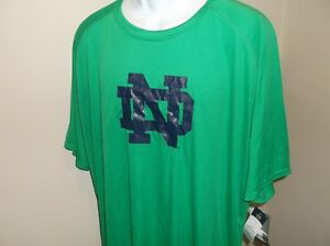 Notre Dame Fighting Irish Champion shirt Adult Large Free Ship - nwt