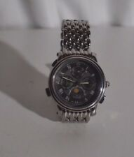 Charmex Men's Quartz Watch S 2343 5 ATM water resistant stainless steel bracelet