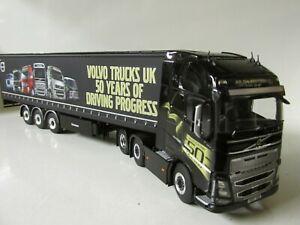 WSI VOLVO FH4 GLOB XL 6X2+C/SIDE TRAILER-VOLVO UK-LTD EDITION-1:50.