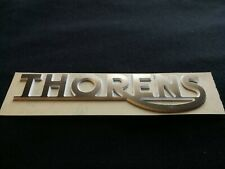 New ! LOGO THORENS, PVC couleur Bronze brossé107 x 25 x 1.6