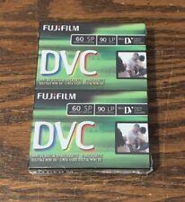FujiFilm Mini DV Digital Video Cassette (DVC) Tape for Camcorders - 2 Pack