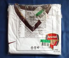 Nouvel Arsenal Saison 2007-2009 Away 3rd choix à Manches Longues player issue shirt XL