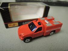 Maisto Special Edition 1/64 Utilty Truck Firedept in OVP aus Sammlung (45/57)