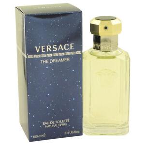 Versace The Dreamer Fragrance 3.4oz Eau De Toilette MSRP $76 NIB