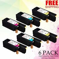 6 COLOR Toner compatible with Xerox WorkCentre 6027 Phaser 6022 106R02759 6020
