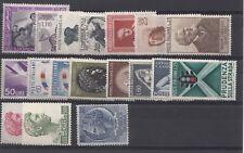 REPUBBLICA ITALIANA ANNATA COMPLETA 1957  NUOVI GOMMA INTEGRA MNH