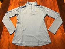 Under Armour Escape Lightweight Semi Fitted 1/4 Zip Pullover Size Small Blue