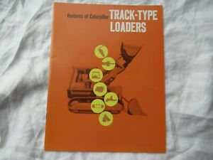 CAT Caterpillar 931 941B 951C 955L 977L 983 track-type loader brochure