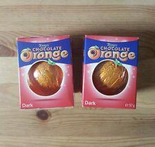 Terry's Dark Chocolate Orange  2x157g NEW