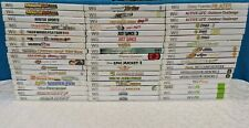 51 Nintendo Wii Games  - Nintendo Wii Game Lot of 51 - Startup Tested