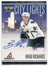 2010-11 Pinnacle City Lights Signatures 44 Brad Richards Auto 54/100