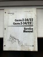 Genie Z-34/22 Service Manual