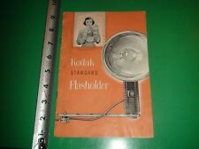 JC039 Vintage 1952 Kodak Standard Flasholder Camera Guide