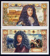 Kamberra, 50 Numismas, 2018, UNC > King Louis XIV of France commemorative
