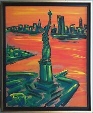New York Liberty Freiheitsstatue 1976, 60 x 50 cm Felix S.Pfefferkorn WVZ-VII-25