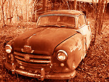"""Abandoned Junk Cars Collection #4 - Canvas Art Poster 18"""" x 24"""""""