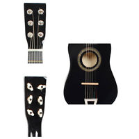 """23"""" Beginners Practice Acoustic 4 Colors Guitar with Pick 6 String Children Kids"""