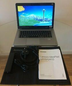 Lenovo Ideapad U410 14-inch Ultrabook - Intel Core i3 3217U 1.8GHz Processor, 4G