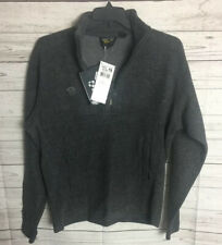 Mountain Hardwear Mens Wool Pullover NEW LARGE 1/4 Zip OM2849-063