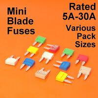 High Quality Mini Blade Fuse Fuses For Car Van Bike - 5A 10A 15A 20A 25A 30A