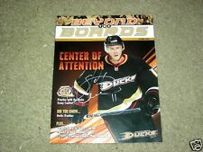 Saku Koivu Autographed Anaheim Ducks Magazine