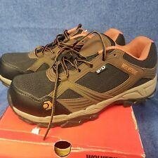 Nibx Wolverine Mens Rush Esd Comp Toe Hiker Work Boot, Brown/Black, sz 12 M US