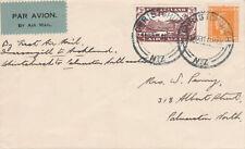 New Zealand NZ10 - 1931 FIRST FLIGHT COVER - CHRISTCHURCH to PALMERSTON