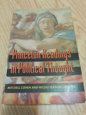 Princeton Readings in Political Thought (1996 Hardcover, and Philosophy