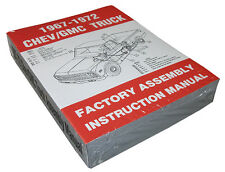 1967-72 CHEVY & GMC TRUCK FACTORY ASSEMBLY MANUAL- SM6772CT