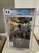 Batman #1 (CGC 9.8) White pgs; New 52; Van Sciver variant cover; DC; 2011