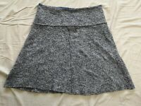 White Stuff Women's Blue Wool Blend Bay Skirt Size UK 8 Good Used Condition