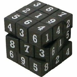 Sudoku Cube Puzzle Cube Game Sudokube Maths Educational Toy